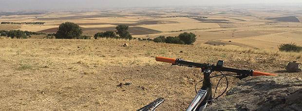 La foto del día en TodoMountainBike: 'Cerro Santo en La Moraña (Ávila)'