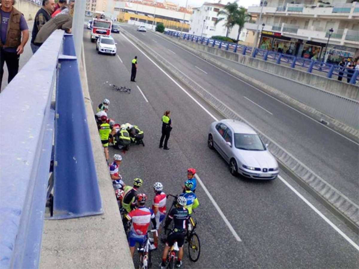 En TodoMountainBike: Atropella a un ciclista, se da a la fuga, quema el coche en un aparcamiento y denuncia el robo para evitar represalias