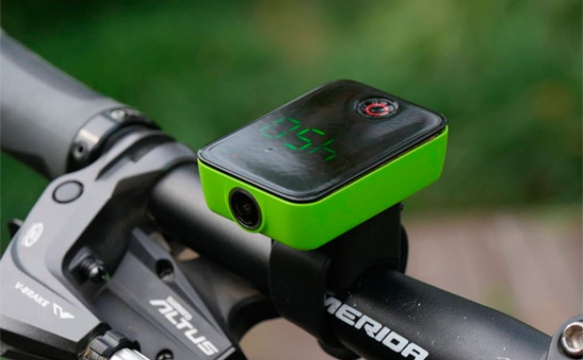 Camile, cámara de acción y ciclocomputador GPS en un único dispositivo