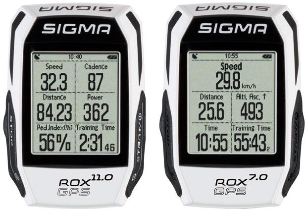 Nueva generación de ciclocomputadores Sigma ROX GPS