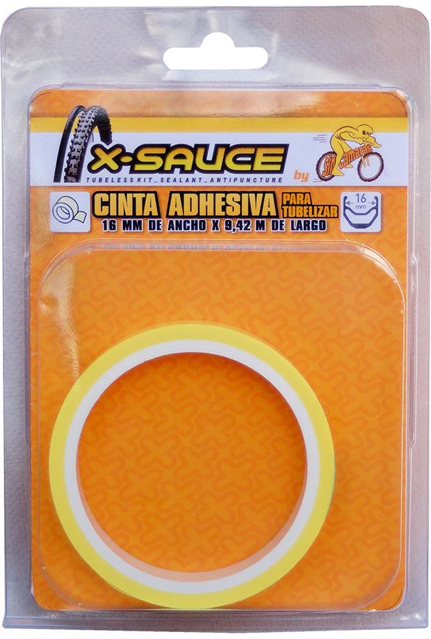 Nuevas cintas adhesivas X-Sauce para tubelizar ruedas de bicicleta