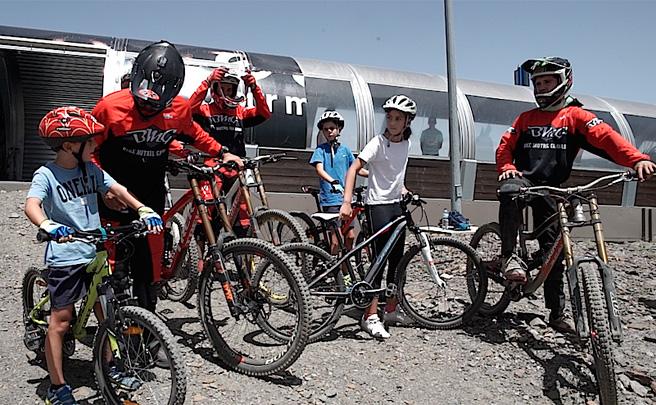 Nuevo circuito de Descenso (para niños e iniciados) en el Sierra Nevada Bike Park