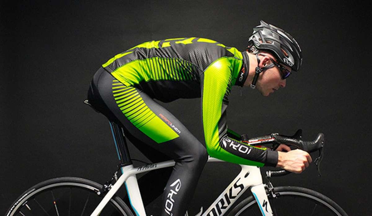 Ekoï LED: chaqueta, guantes y cascos para ciclistas con LEDs integrados