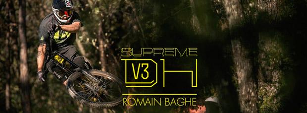 La nueva Commencal Supreme DH V3 de 2017 en acción