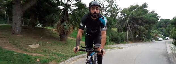 ¿Cómo grabar vídeos sobre la bicicleta? Valentí Sanjuan nos lo explica