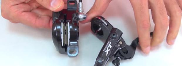 Cómo separar las pastillas de freno de nuestra bicicleta