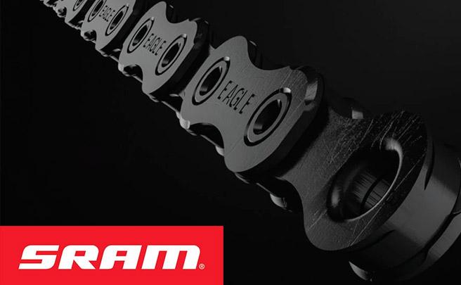 Todos los componentes del grupo SRAM Eagle, al detalle