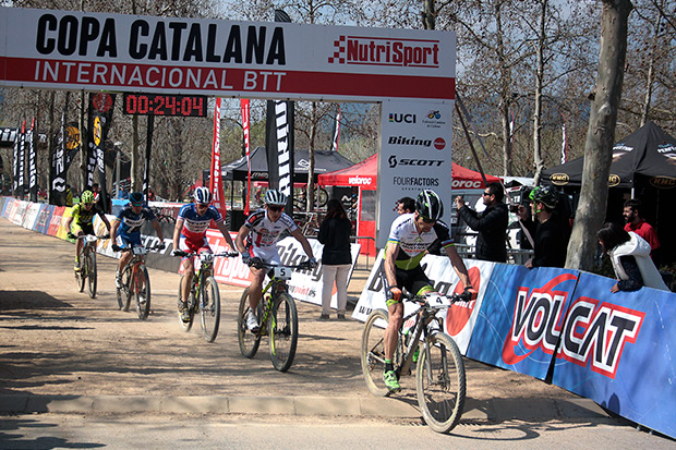 Victor Koretzky y Githa Michiels, campeones de la Copa Catalana Internacional Biking Point de Banyoles