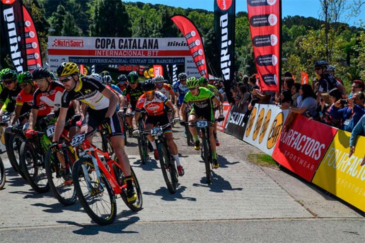 Ever Alejandro Gómez y Chloé Passelande, campeones de la Copa Catalana Internacional Biking Point de Barcelona