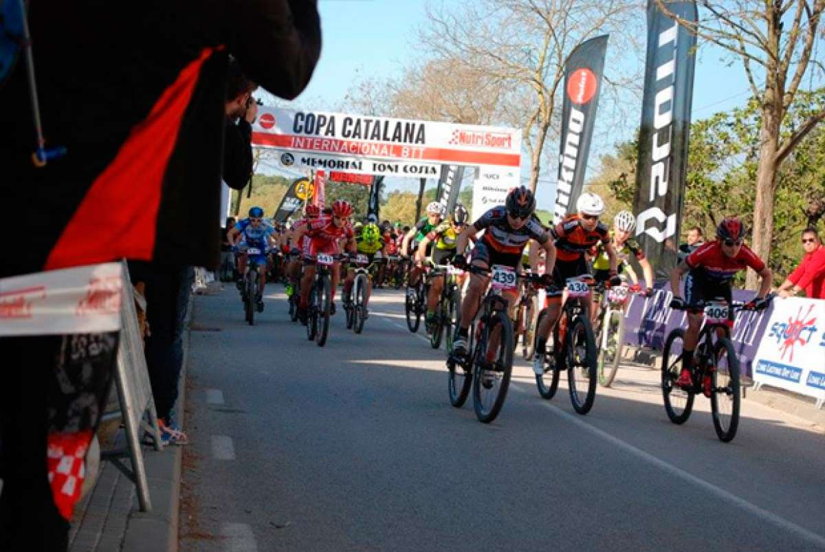 Francesc Guerra y Sandra Santanyes, campeones de la Copa Catalana Internacional Biking Point de Corró d'Amunt