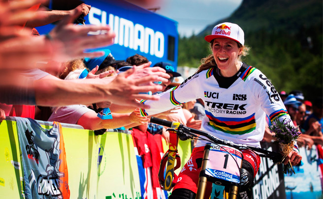 Copa del Mundo UCI DHI: Resumen de la tercera ronda disputada en Fort William (Escocia)