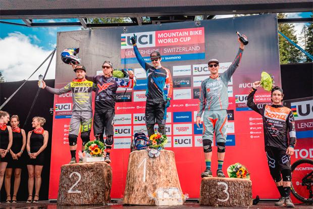 Copa del Mundo UCI DHI 2016: Resumen de la quinta ronda disputada en Lenzerheide (Suiza)