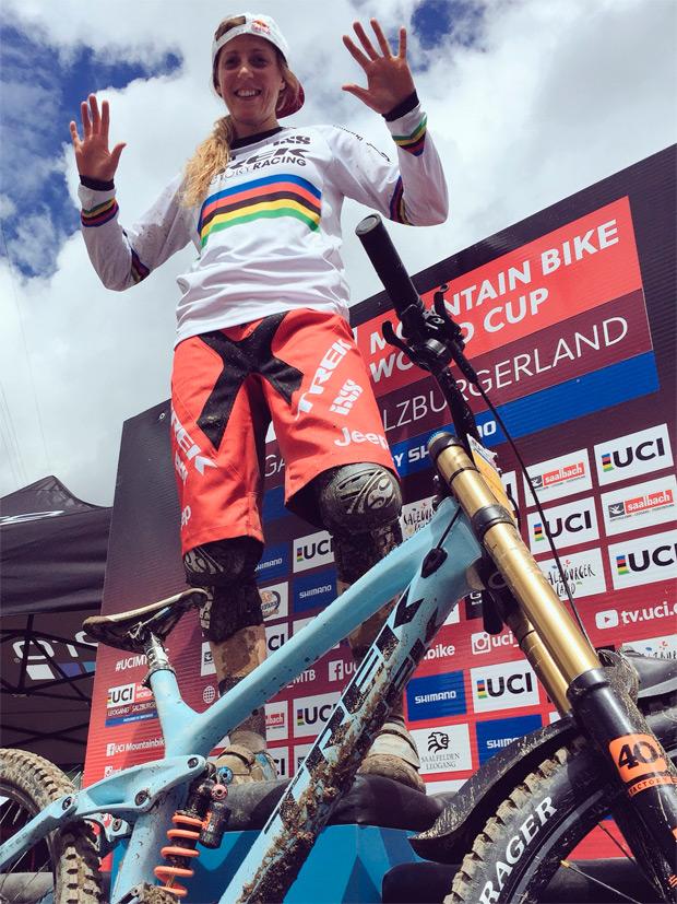 Copa del Mundo UCI DHI: Resumen de la cuarta ronda disputada en Leogang (Austria)