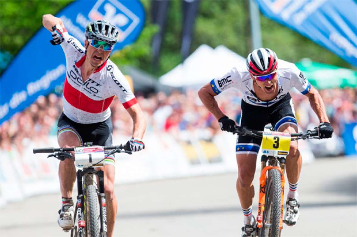 Los mejores momentos de las seis rondas de la Copa del Mundo UCI XCO 2016