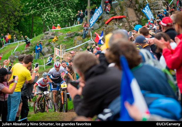 La Copa del Mundo UCI XCO 2016 de La Bresse, en imágenes