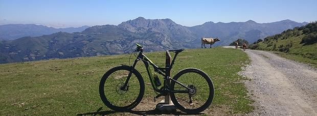 La foto del día en TodoMountainBike: 'Coto Bello, Asturias, Paraíso Natural'