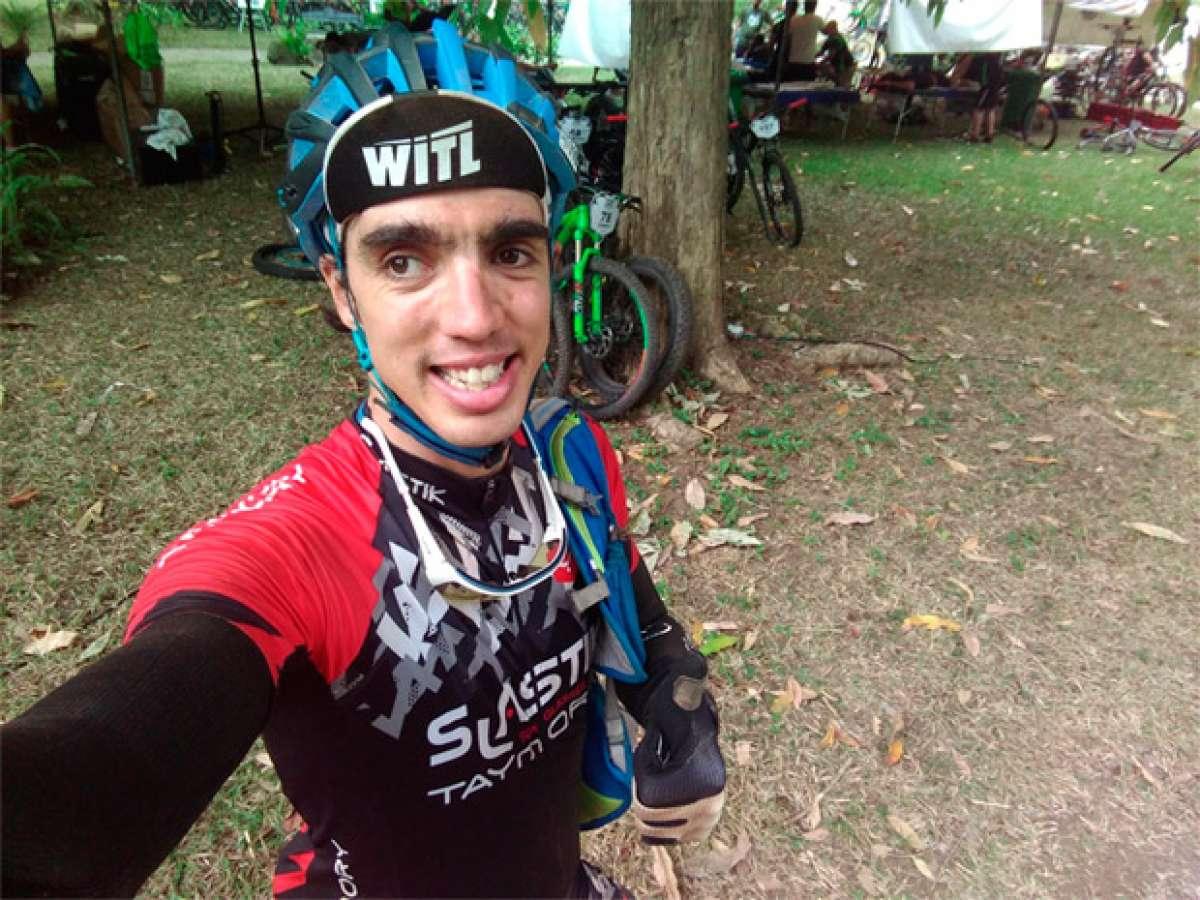 Dani Nafría se lleva su merecido maillot de finisher en la Titan Tropic Cuba by Gaes 2016