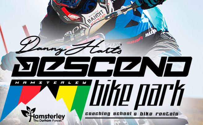 Nuevo título para Danny Hart: el de propietario del Descend Bike Park de Hamsterley