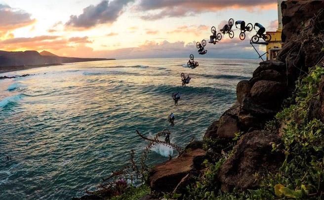 Detrás de las cámaras: así se grabó el salto final de Danny MacAskill en su vídeo Cascadia