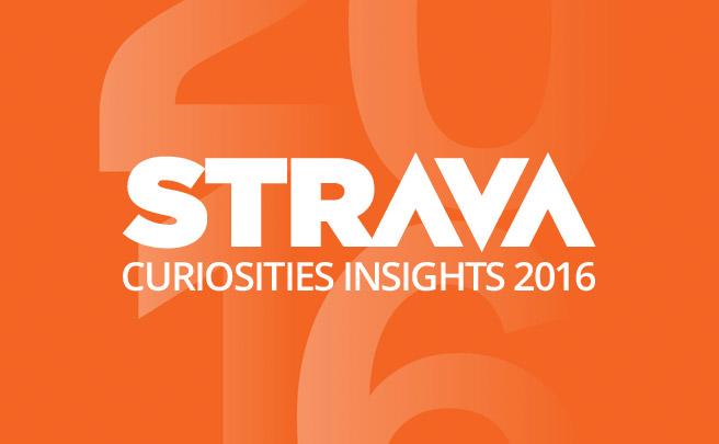 Los datos más curiosos recopilados por Strava durante 2016