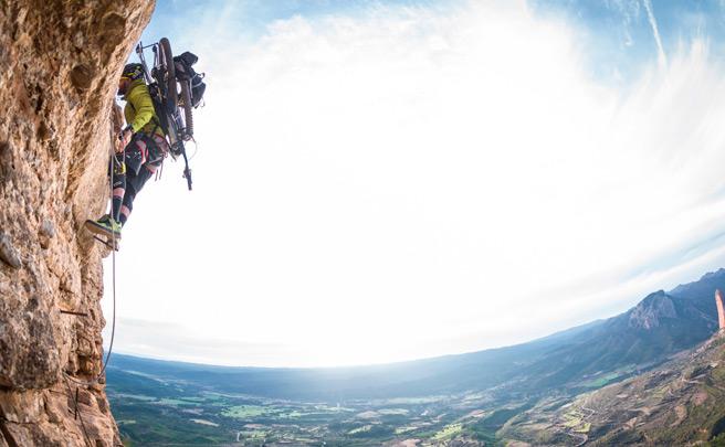 Subiendo al Mirador de los Buitres (y bajando) con David Cachon