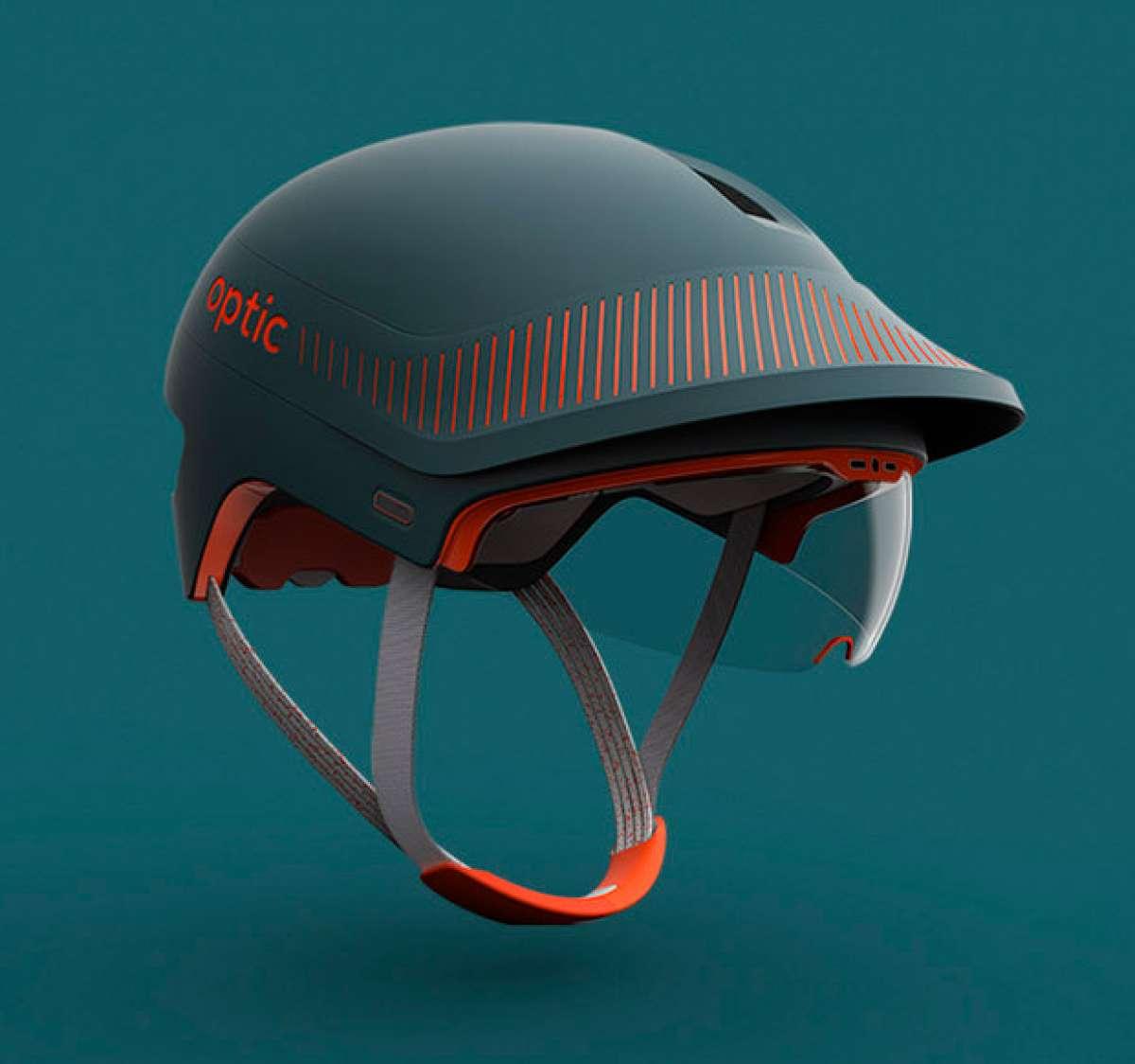 DCA Optic, un casco con visor HUD y cámara integrada que mejora la seguridad de los ciclistas