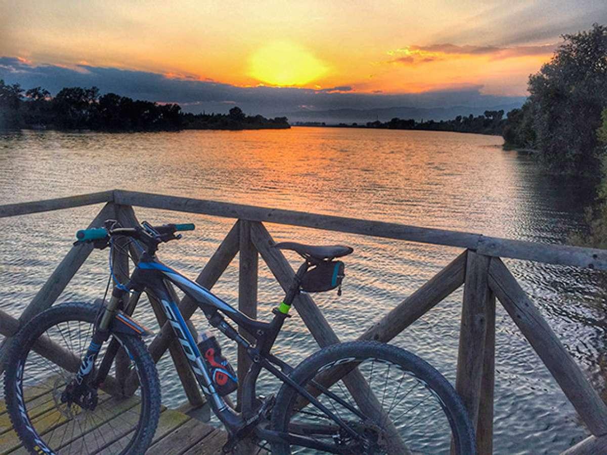 La foto del día en TodoMountainBike: 'El Paraíso en bici'