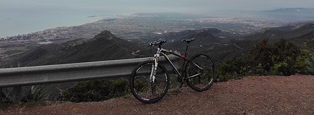 La foto del día en TodoMountainBike: 'En la cima del Desierto de Las Palmas'