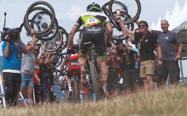 La despedida del Multivan Merida Biking Team en la Copa del Mundo UCI XCO 2016