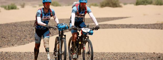 'De aquí no me voy, me echan', el documental sobre el atleta amputado Dani Nafría en la Titan Desert 2016