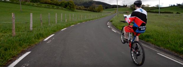 Así sueña (y rueda) Markel Uriarte, corredor del Orbea Enduro Crew