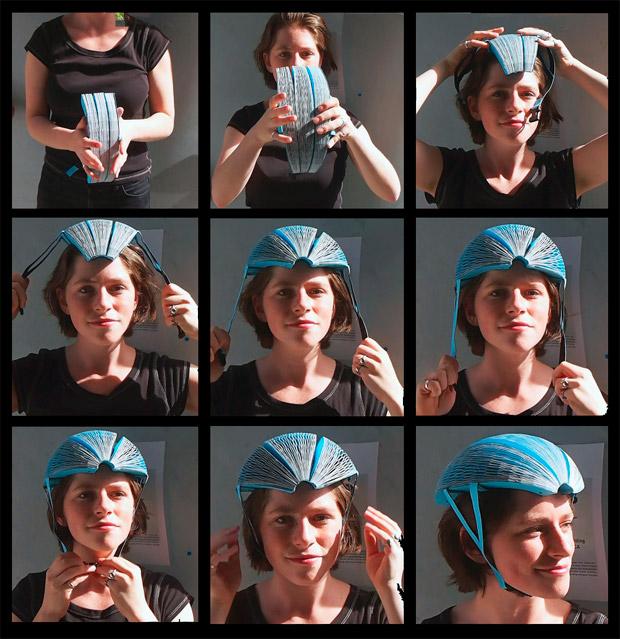 En TodoMountainBike: EcoHelmet, el casco para ciclistas fabricado en papel ganador del Premio James Dyson 2016