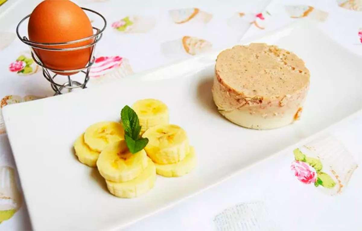 Claras de huevo con plátano en formato flan, la nueva propuesta de EcoSpain