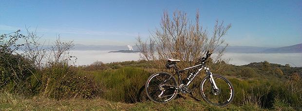 La foto del día en TodoMountainBike: 'El Bierzo con niebla'