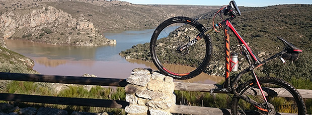 La foto del día en TodoMountainBike: 'Encuentro del Río Duero y Esla en Abelón (Zamora)'