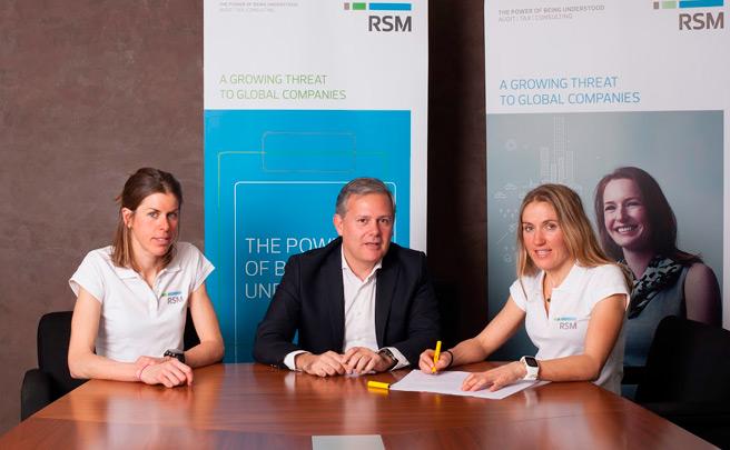 Clàudia Galicia y Laura Orgué, las nuevas integrantes del equipo RSM Spain