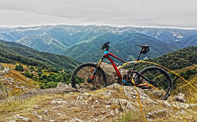 La foto del día en TodoMountainBike: 'Recompensa después de 6 km de ascenso'