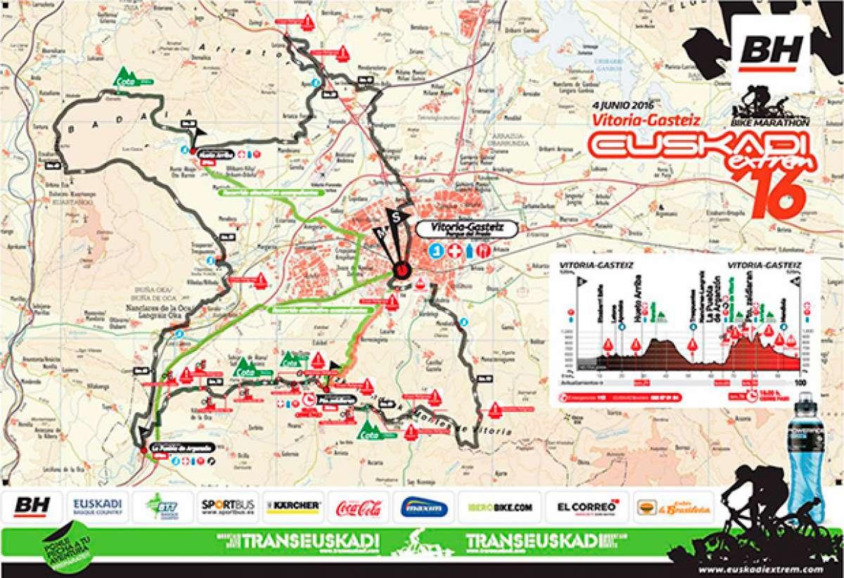 Arranca la octava edición de la EUSKADIextrem-BH Bike Marathon