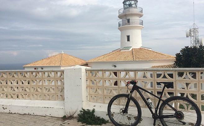 La foto del día en TodoMountainBike: 'El Faro de Cullera, Valencia'