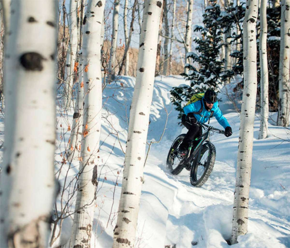 En TodoMountainBike: 'Fat Biking' invernal en Salt Lake City (Utah) con los chicos de Trek Bikes