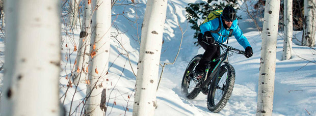 'Fat Biking' invernal en Salt Lake City (Utah) con los chicos de Trek Bikes