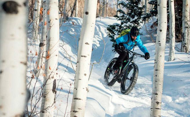 'Fat Biking' invernal en Salt Lake City (Utah) con los chicos de Trek Bikes