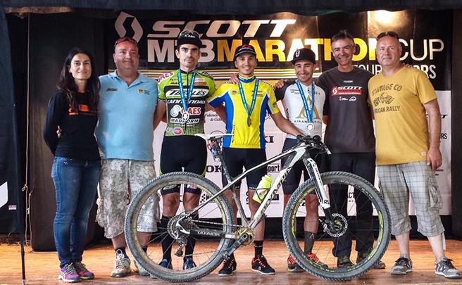 Francesc Guerra del Olympia Factory Cycling Team, nuevo campeón de Cataluña en XCM
