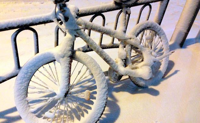 El invierno, la época ideal para quemar más calorías sobre la bicicleta