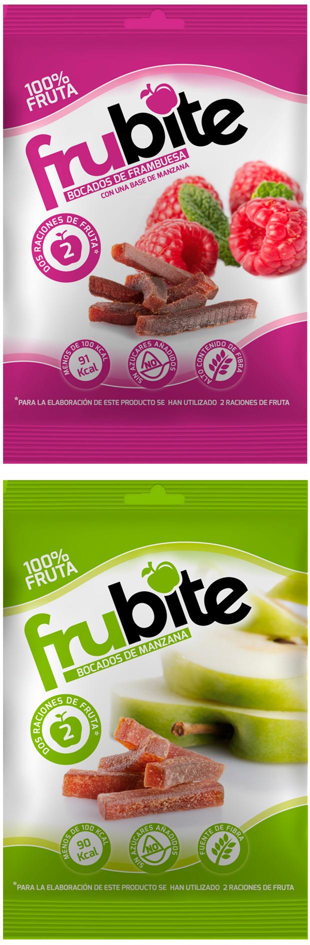 Frubite, snacks saludables de fruta para deportistas