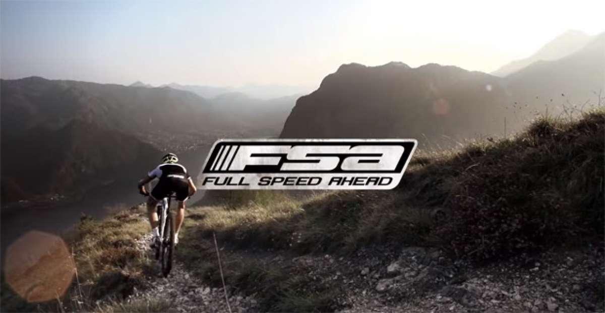 Las nuevas ruedas FSA MTB de 2016 en acción