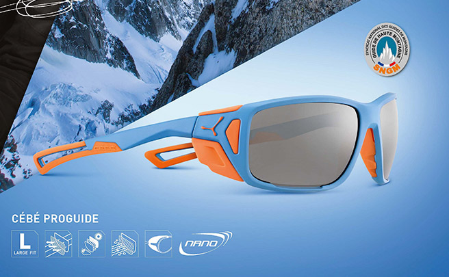 Cébé Proguide, nuevas gafas de sol con protecciones laterales para rodar bajo cualquier condición