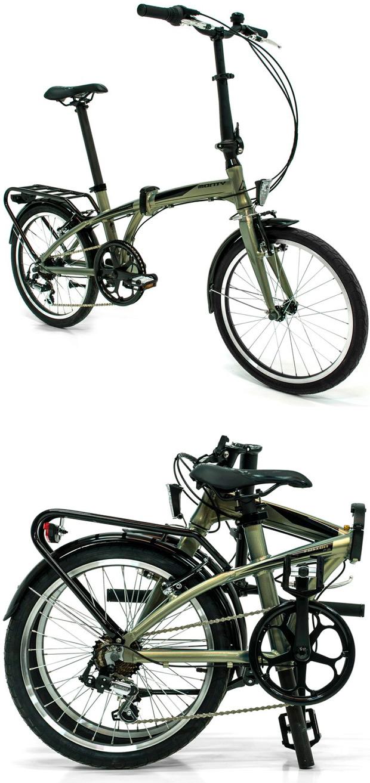 Nueva gama de bicicletas plegables Monty Source, Fusion y Pulse