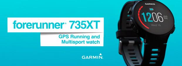 Garmin Forerunner 735XT, un reloj GPS multidisciplinar para deportistas exigentes