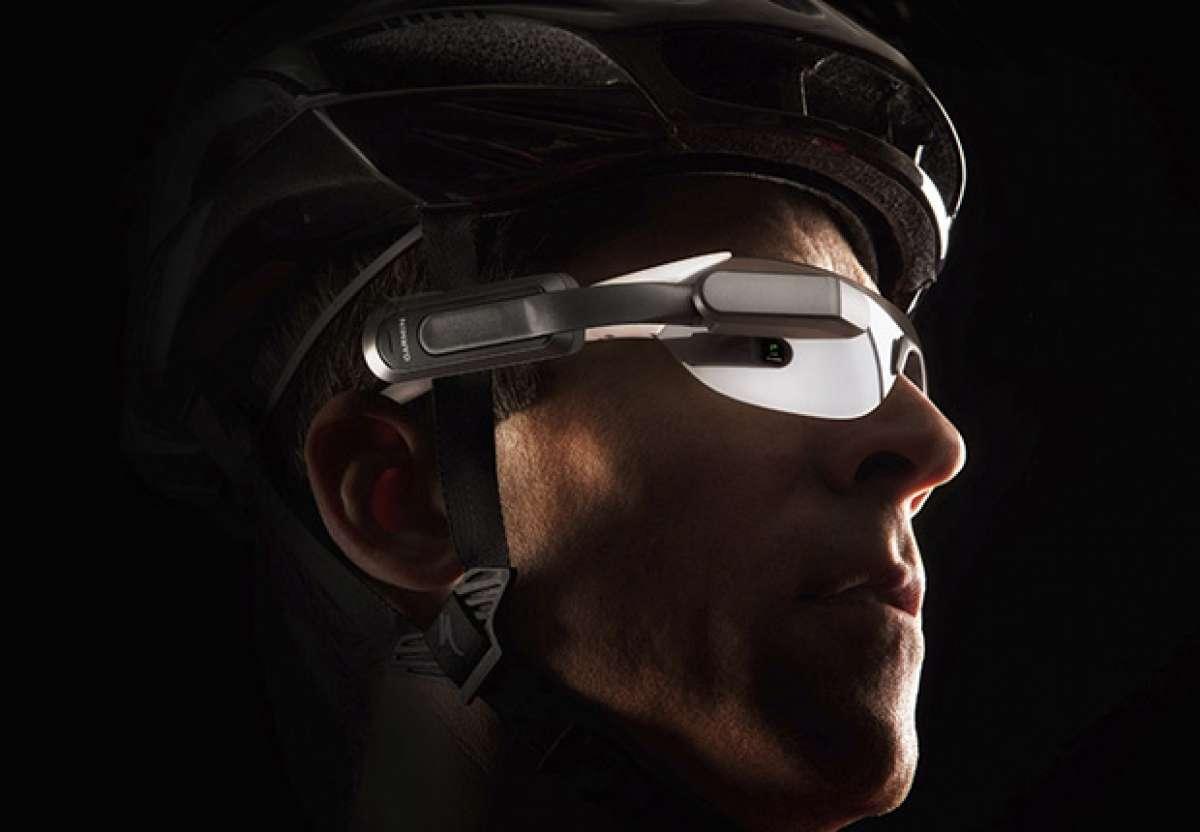 """Garmin Varia Vision, un nuevo y futurista dispositivo """"Head-Up"""" para ciclistas"""